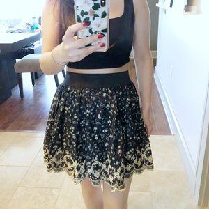 ✨Cute Flower print skirt ✨